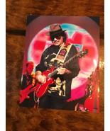 Vintage Carlos Santana 8x10 Glossy Photo Playing Lead Guitar - $8.00