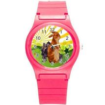 EASTER SPRING BUNNY RABBIT PRETTY 6 COLORS BLUE, GRN., PINK, PURPLE YELL... - $15.99