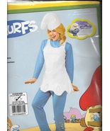 SMURFETTE COSTUME STANDARD SIZE TO DRESS SIZE 12 - $45.00