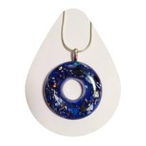 Lifesaver Blue Pendant with Energy - $25.00