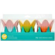 Wilton 72ct Paper Ombre Petal Baking Cups - $10.00