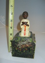 Vintage Bobblehead North African Alms Donation Collection Box Savings - $399.99