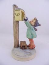 """VTG Hummel Goebel #340 """"Letter to Santa"""" Mailbox Figurine - $84.15"""