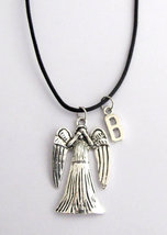 Doctor Who Inspired Weeping Angel Pendant Necklace Dr Doctor Who  - $9.40
