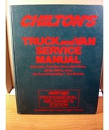Chilton's Truck and Van Service Manual 1986-1990 Moter/Age Professional ... - $13.49