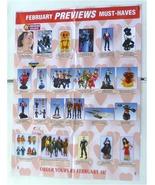 Minimates toy poster:JLA/Avengers/Ghost Rider/Iron Man/Star Trek/Punishe... - $40.00