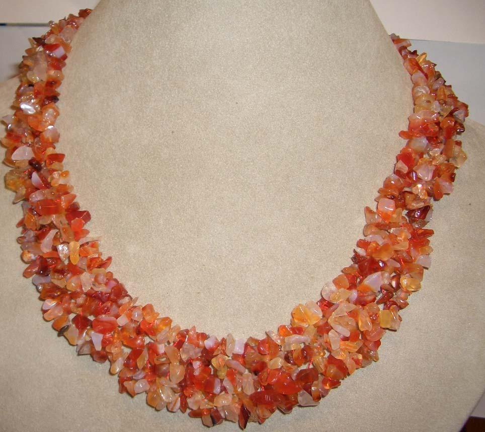 Agate z545 20 magnificent necklace