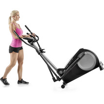iFit Technology Elliptical Trainer Machine Home Gym Fitness Workout LCD ... - $321.06