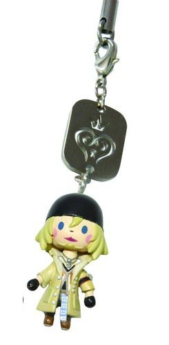 Kingdom Hearts Snow Mascot Figure Phone Charm *NEW*