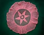 Doily pink star thumb155 crop