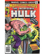 Marvel Super-Heroes Comic Book #60, Marvel Comics 1976 FINE+ - $3.99