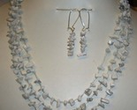 Turquoise y403howlite necklace earring set thumb155 crop