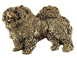 Creative Pewter Designs, Full Body Chow Handcrafted Dog Magnet, 24k Gold... - €19,65 EUR
