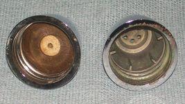Vtg SPICE OF LIFE Salt and Pepper Shakers- ChromeTops -Corelle Gemco Corning GU  image 8