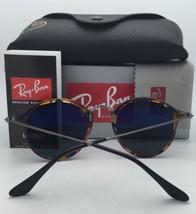 New RAY-BAN Sunglasses ICONS RB 2447 901/4J 49-21 145 Black Frame w/Green Mirror