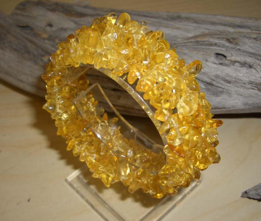 Quartz yellow bracelet