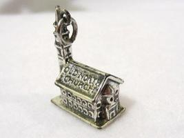 Vintage Sterling silver OLD NORTH CHURCH Charm/pendant - $18.00