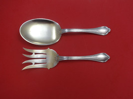 Paul Revere by Towle Sterling Silver Vegetable Serving Set 2pc Goldwashed - $274.55