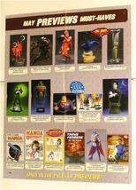 Bust/Figure/Statue Poster:Venom/Jla/Sandman/X Men/Superman/Green Lantern/Elektra - $40.00