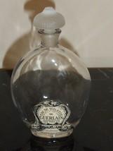 "Vintage Guerlain Shalimar Empty Perfume Bottle 5"" Tall - $49.00"