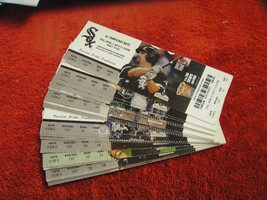 MLB 2011 Chicago White Sox Full Unused Ticket Stubs $2.99 Each - $2.99