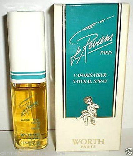 New Je Reviens Worth Parfume De Toilette 1.0 fl oz spray as shown low fill NIB