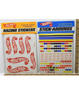 1969 Hot Wheels Racing Stickers MPN 6297 and Hot Wheels Stick-Arounds MP... - $20.56