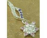 Topaz cb0158pinkflower charm pendant 925 sterling silver thumb155 crop