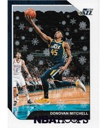 Donovan Mitchell NBA Hoops Winter 18-19 #90 Purple Parellel Utah Jazz - $3.50