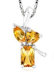 Citrine 1.003stone pendant sjc received