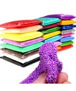 24 Colors snow mud Plasticine Play Foam Clay Slimes Magic Colored Modeli... - $12.99+