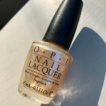 OPI  Nail Polish Up Front and Personal NL B33 Lacquer NEW Gold Shimmer Sparkle - $9.88