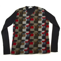 Dolce & Gabbana D&G Blue Red Long Sleeve Cashmere Wool Sweater Mens Top ... - $177.21
