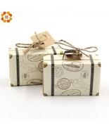 DIYHouse® 10PC/Lot DIY Travel Paper Box Vintage Mini Suitcase CandyBox S... - $5.48