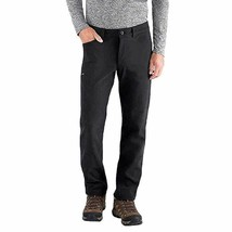 BC Clothing Men's Soft shell Fleece Lined Pant Black Size 42X32 - $21.99