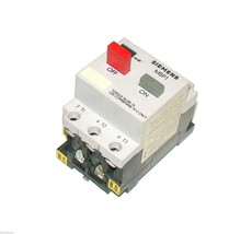 SIEMENS MANUAL MOTOR STARTER OVERLOAD RELAY 5-8 AMP MODEL MSP10M  (5 AVA... - $69.99
