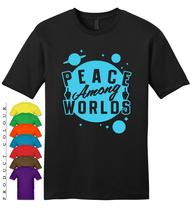 Peace Among Worlds Mens Gildan T-Shirt New - $19.50