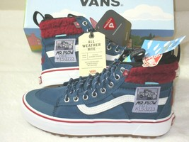 Vans x The Simpsons Womens Sk8-Hi Mte 2.0 Dx Mr Plow Skate Shoes Boots Size 8.5 - $105.18