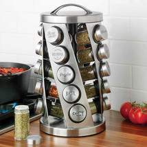 Kamenstein 20 Jar Revolving Spice Rack NEW - £33.13 GBP