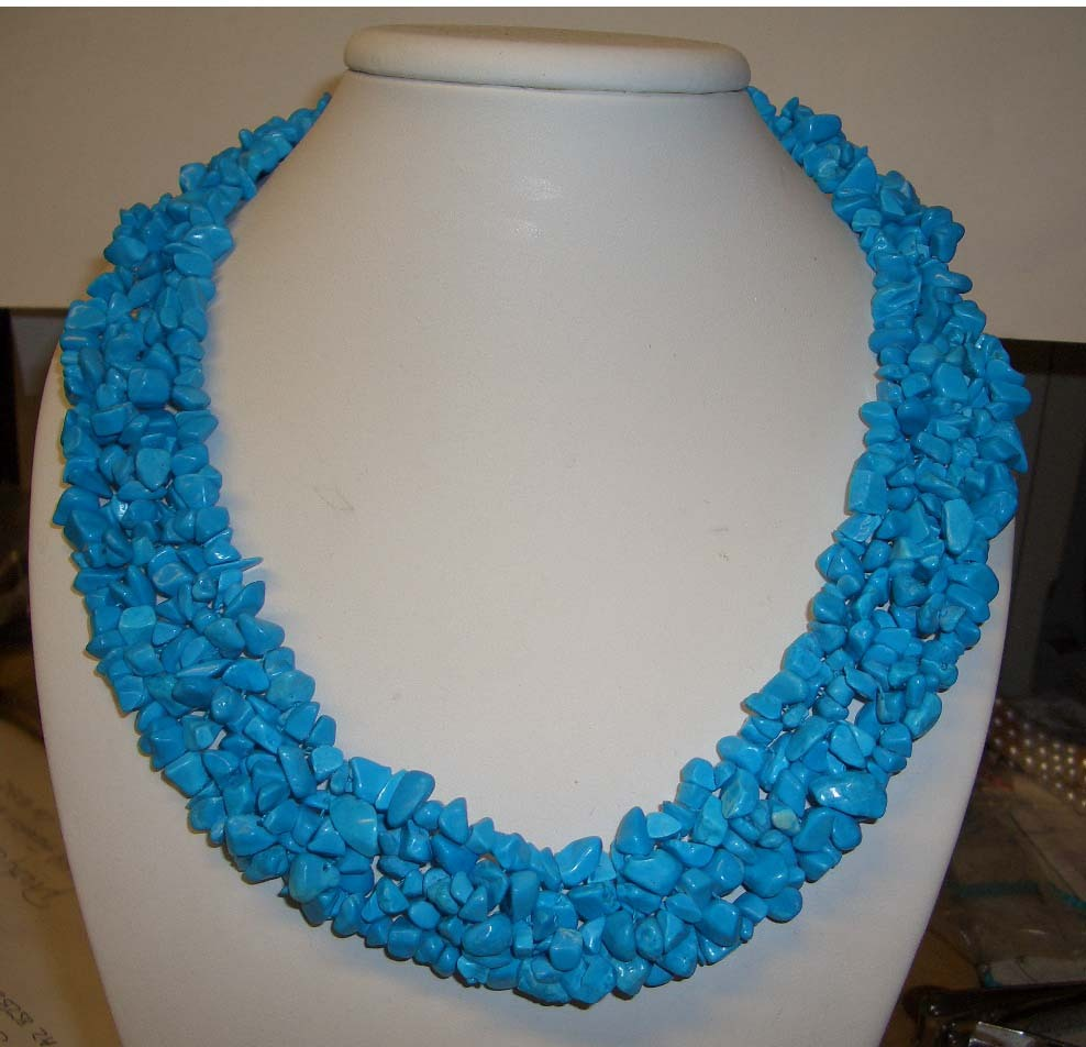 Turquoise z523 20inch necklace