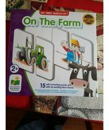 My First Match It On The Farm Puzzle Game - $18.39