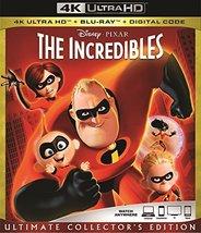 Disney Pixar The INCREDIBLES (4K Ultra HD+Blu-ray)
