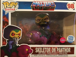 Funko Pop Limited Edition Flocked Skeletor On Panthor , Suprise Drop Sol... - $64.35