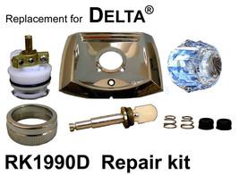 For Delta Rk1990d 1 Diverter Valve Rebuild Kit - $69.90