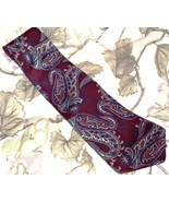 Don Loper Ties Beverly Hills Paisley Design Vin... - $19.99