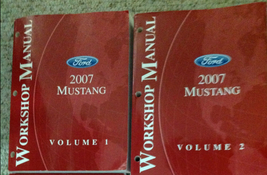 2007 Ford Mustang Gt Cobra Mach Service Shop Repair Workshop Manual Set OEM - $152.16
