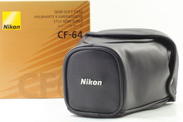 [Unused in box] Nikon CF-64 cf64 Soft Leather Camera Case for F6 From Japan - $118.79