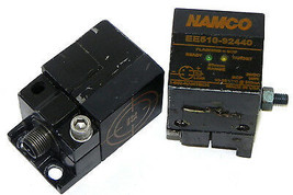LOT OF 2 NAMCO EE510-92440 PROXIMITY SWITCHES 9WAY 25MM EE51092440