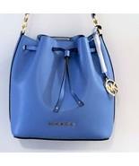 Michael Kors Eden Medium Drawstring Bucket Bag Tote ~ French Blue NWT - $159.95