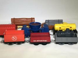 Mattel Sodor Quarry Mining Train Car Set Thomas & Friends Trackmaster Lo... - $49.95
